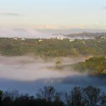 Alpes Apuanos vistas desde Chianti, Barberino Val d'Elsa, Florencia. Autor y Copyright Marco Ramerini