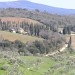 Campagna nei pressi di San Gusmè, Castelnuovo Berardenga, Siena. Author and Copyright Marco Ramerini