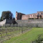 Castello di Brolio, Gaiole in Chianti, Siena. Author and Copyright Marco Ramerini