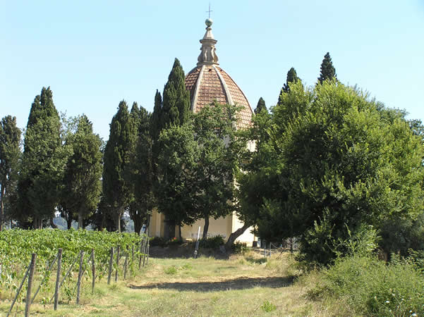 Cupola di San Donnino, Barberino Val d'Elsa. Autore e Copyright Marco Ramerini