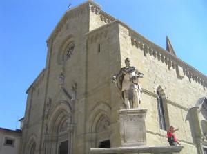 Duomo, Arezzo. Autor y Copyright Marco Ramerini