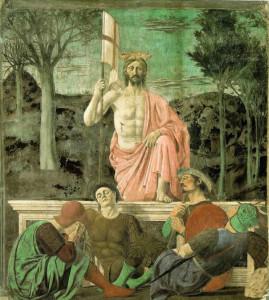 Resurrezione. Opera di Piero della Francesca, Sansepolcro. No Copyright