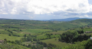 Chianti in spring, Barberino Val d'Elsa, Florence. Author andCopyright Marco Ramerini.