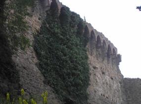 Dettaglio delle mura di Malmantile. Author and Copyright Marco Ramerini