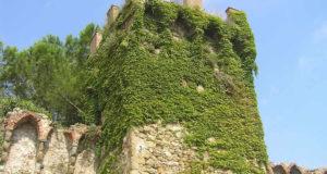Torre nelle mura di Lastra a Signa. Author and Copyright Marco Ramerini