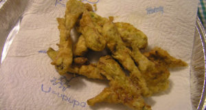 Carciofi Fritti. Author and Copyright Marco Ramerini.