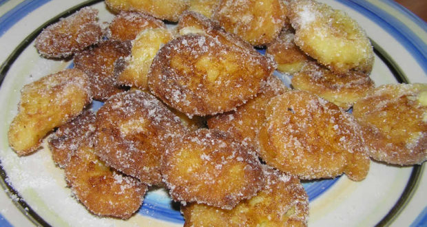 Frittelle di Riso. Author and Copyright Marco Ramerini