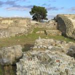 I resti romani di Salebrum (Salembrone), Paduline, Castiglione della Pescaia. Author and Copyright Marco Ramerini