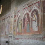 Frescoes (XIV-XV century) in the Basilica of San Miniato al Monte, Florence. Author and Copyright Marco Ramerini