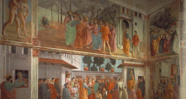 Cappella Brancacci, Chiesa di Santa Maria del Carmine, Firenze.