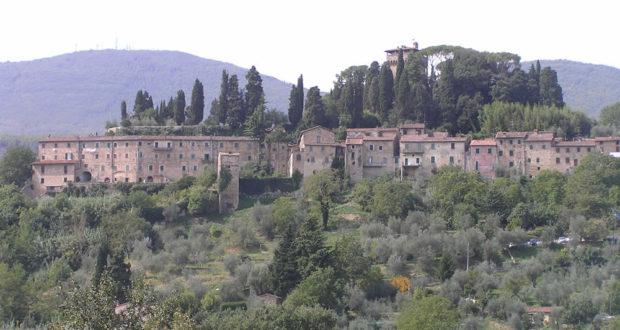 Cetona, Siena. Author and Copyright Marco Ramerini