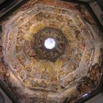 Frescos en la cúpula de Brunelleschi, Catedral de Santa María del Fiore, Florencia. Autor y Copyright Marco Ramerini