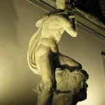 El Genio de la Victoria de Miguel Ángel, Salón de los Quinientos, Palazzo Vecchio, Florencia. Autor y Copyright Marco Ramerini