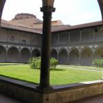 El segundo claustro, Basílica de Santa Croce. Autor y Copyright Marco Ramerini