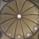 El interior, Cappella de' Pazzi, Basílica de la Santa Cruz. Autor y Copyright Marco Ramerini,