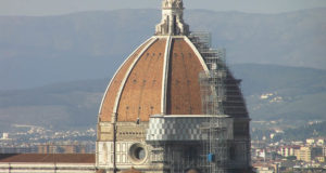 La cupola del Duomo, Firenze, Italia. Author and Copyright Marco Ramerini.