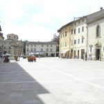 The main square, Cetona, Siena. Author and Copyright Marco Ramerini