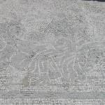 Mosaico, Domus dei Mosaici, Roselle, Grosseto. Author and Copyright Marco Ramerini