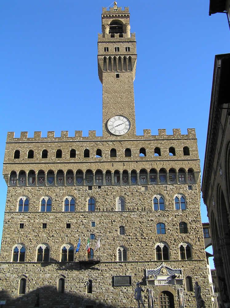 Palazzo Vecchio, Florencia, Italia. Autor y Copyright Marco Ramerini
