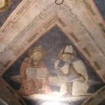 Affresco, Sagrestia Vecchia, Santa Maria della Scala, Siena. Author and Copyright Marco Ramerini