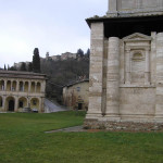 Canonica e Chiesa o Santuario della Madonna di San Biagio, Montepulciano, Siena. Author and Copyright Marco Ramerini
