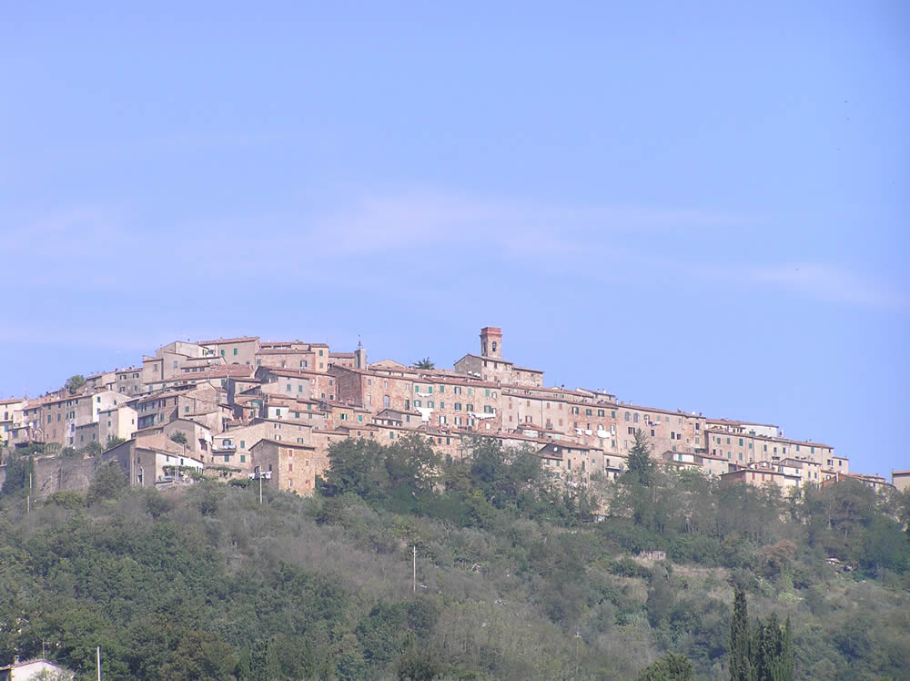 Chiusdino, Siena. Author and Copyright Marco Ramerini.