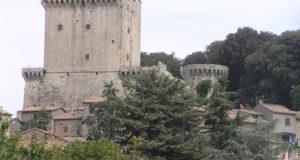 Castle of Sarteano, Siena. Autor und Copyright Marco Ramerini