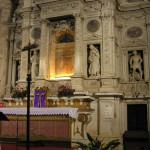 L'Altare Maggiore, Chiesa o Santuario della Madonna di San Biagio, Montepulciano, Siena. Author and Copyright Marco Ramerini