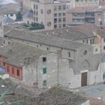 La Chiesa di Sant'Agostino a Colle Bassa, vista dal Baluardo, Colle Val d'Elsa, Siena. Author and Copyright Marco Ramerini