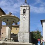 La Torre dell'Orologio, Chiusi, Siena. Autore e Copyright Marco Ramerini