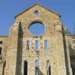 L'abside dell' Abbazia di San Galgano, Chiusdino, Siena. Author and Copyright Marco Ramerini.