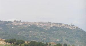 Montalcino, Siena. Autor and Copyright Marco Ramerini.