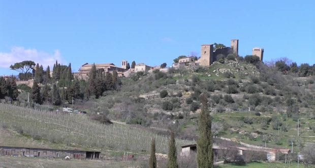 Monticchiello, Val d'Orcia, Siena. Author and Copyright Marco Ramerini