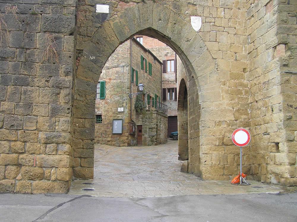 Monticchiello, Val d'Orcia, Siena. Author and Copyright Marco Ramerini.
