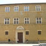 Palazzo Vescovile or Palazzo Borgia, Pienza, Val d'Orcia, Siena. Author and Copyright Marco Ramerini
