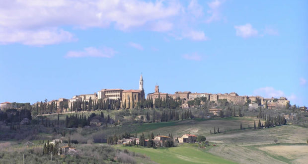 Pienza, Val d'Orcia, Siena. Author and Copyright Marco Ramerini