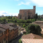 San Domenico, Siena. Author and Copyright Marco Ramerini