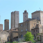 San Gimignano, Siena.  Author and Copyright Marco Ramerini.