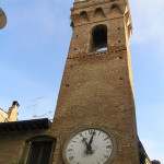 Torre Civica, Buonconvento, Siena. Author and Copyright Marco Ramerini