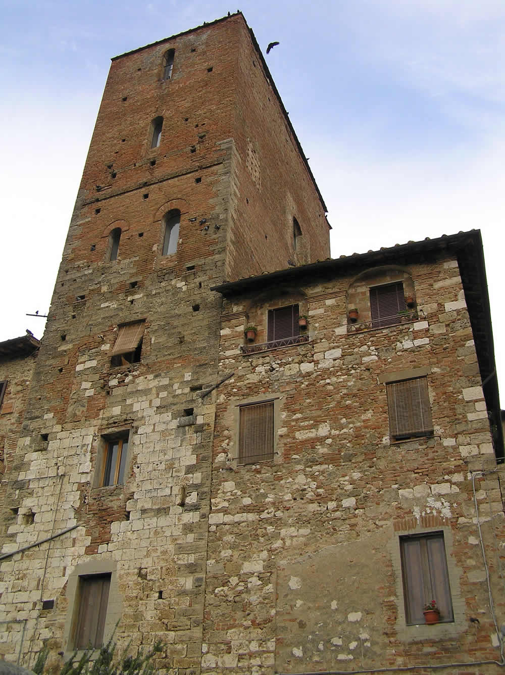 Torre di Arnolfo, Colle Val d'Elsa, Siena. Author and Copyright Marco Ramerini