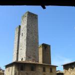 Piazza del Duomo, San Gimignano, Siena. Author and Copyright Marco Ramerini.