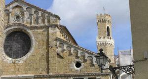 Il Duomo, Volterra, Pisa. Author and Copyright Marco Ramerini.