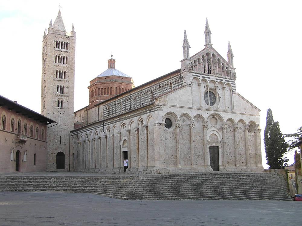 Il Duomo di Massa Marittima, Grosseto. Author and Copyright Marco Ramerini