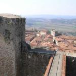 Il Torrione della Fortezza Senese, Massa Marittima, Grosseto. Author and Copyright Marco Ramerini