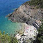 Insenatura nel golfo di Procchio, Marciana, Isola d'Elba, Livorno.. Author and Copyright Marco Ramerini
