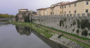 The walls of Prato. Author and Copyright Marco Ramerini.