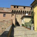 L'ingresso della Fortezza, Montecarlo, Lucca. Author and Copyright Marco Ramerini