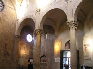 L'interno del Duomo di Massa Marittima, Grosseto. Author and Copyright Marco Ramerini