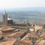 Panorama di Massa Marittima, Grosseto. Author and Copyright Marco Ramerini