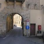 Porta San Rocco (lato esterno), Massa Marittima, Grosseto. Author and Copyright Marco Ramerini